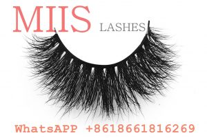 3d real mink lashes clear band