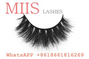 mink lashes with own